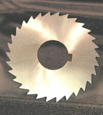 """SCT HSS SLITTING SLOTTING SAW 3"""" X 1/16 X 30T 1"""" BORE WITH KEYWAY FROM CHRONOS"""