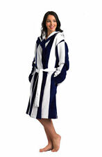 Fleece Striped Nightwear Robes for Women