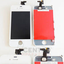 TOUCH SCREEN VETRO DISPLAY LCD RETINA FRAME PER IPHONE 4S SCHERMO BIANCO WHITE