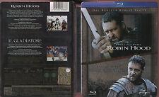 Robin Hood e Il gladiatore BLU-RAY STEELBOOK 2 DISCHI