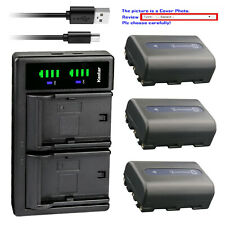 Kastar Battery LTD2 Charger for Sony NP-FM50 BCVM50 & Cyber-shot DSC-F828 DSC-R1