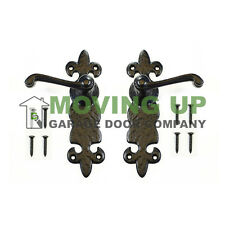 Garage Door Decorative Handle Set Cast Iron 8""