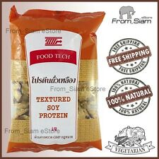 TEXTURED SOY PROTEIN Natural Meatless Vegan Soy Meat - 100g (3.53oz)