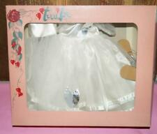 Very Very Rare Terri Lee Bridal Wedding Dress, Veil Cap & Silver Shoes - Iob