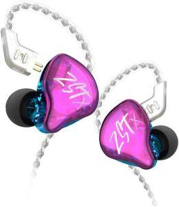 KZ ZST X 1BA+1DD Hybrid Dual Driver HiFi in-Ear Earphones for Musicians