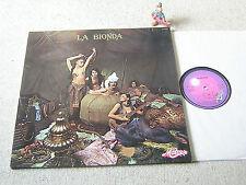 LA BIONDA Same 1978 FRANCE LP + FOC MOTORS 2473 204, DISCO inkl. One For You..