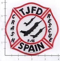 Spain - Torrejon Air Base Fire Dept Patch