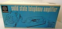 FANON, SOLID STATE TELEPHONE AMPLIFIER, NEW IN BOX, VINTAGE, NEVER USED