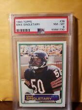 1983 Topps Mike Singletary Rookie PSA 8