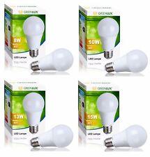 LED Leuchtmittel Birne Lampe E27 , 8 10 13 15W Greenlux / Kobi Großhandelspreise