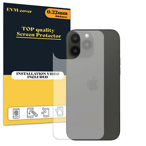 Back Protector Cover For Apple iPhone 13 Pro Max TPU FILM - Clear