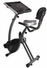 WIRK Ride Cycling Exercise Bike Stand-Up Workstation Laptop Computer Tablet Desk