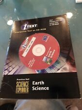 Prentice Hall Earth Science CD-ROM, iText, Science Explorer, Education, Homescho