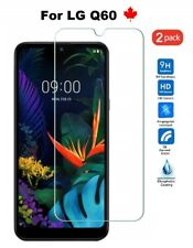 For LG Q60 (LMX525WA) - Tempered Glass HD Hard Screen Protector Cover (2 Pack)