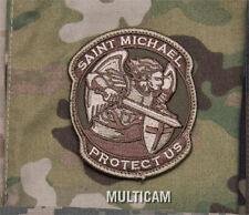 MilSpec Modern ST SAINT MICHAEL PROTECT MULTICAM Military Army Morale Patch