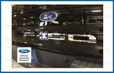 2018 Ford F150 Tailgate Insert Decals Letters Indent Stickers - CHROME MIRROR