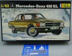 HELLER MERCEDES-BENZ 450 SL REFERENCE 171