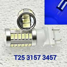 T25 3155 3157 3457 4157 SRCK 33 SMD LED Blue  Parking Light M1 For Chevrolet A
