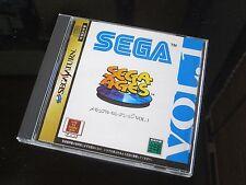Sega Ages Memorial Selection Vol 1  Japan Import Sega Saturn