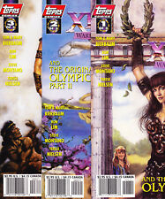 XENA Warrior Princess 1 2 3 And The Original Olympics Full Run comic book lot NM