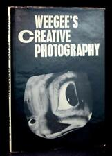 Weegee's Creative Photography Gerry Speck First Edition Hardcover w/Dustjacket