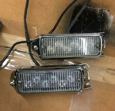 Whelen 500 Series Harley Davidson Police front fender Super-LED TIR6 pair-tested