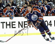 Oilers Wayne Gretzky Authentic Signed 11x14 Photo Autographed PSA/DNA #V07488
