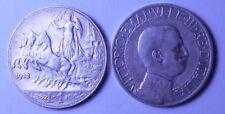 1 Lira 1912 quadriga veloce  conservazione BB