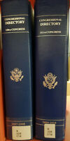 Congressional Directories 110th and 111th Vintage Books!