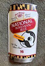 Brand New National Bohemian Natty Boh Beer Maryland Flag Can Metal Tin Sign