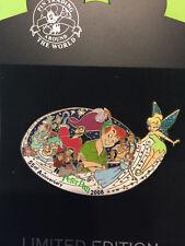 Disney Shopping  Walt Disney's Peter Pan Pin  55th Anniversary Jumbo LE 500