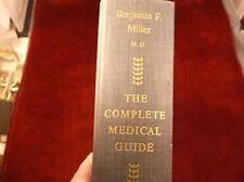 "NICE VTG 1956 BOOK ""THE COMPLETE MEDICAL GUIDE"" BY BENJAMIN F. MILLER, M.D., VGC"