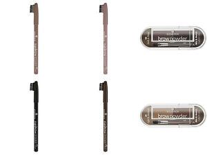 Essence Eyebrow Designer/ Brow Powder Set Smooth Practical Brush Gel Color Shape
