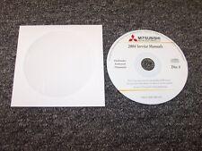 2004 Mitsubishi Outlander Workshop Shop Service Repair Manual DVD LS XLS 2.4L