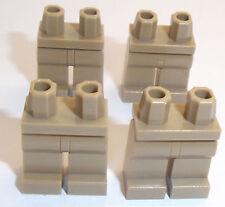 Lego Piernas Bronceado Oscuro X 4 para miinifigure