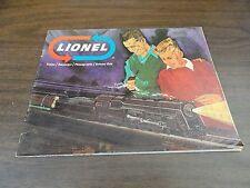 1966 LIONEL TRAIN CATALOG – ORIGINAL – IN FAIR CONDITION