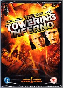 The TOWERING INFERNO DVD Steve McQueen Paul Newman  Region 4 (AUS) New & Sealed
