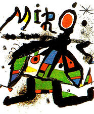 "JOAN MIRO LITHOGRAPH: ""EXPOSITION 1978""--EXCELLENT CONDITION"