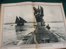 Photographic History Great European War in Gravure - orig 1916 WW I photo book