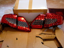 Fit 2008 - 2009 Toyota Corolla Altis LED Tail Light Rear Lamps Red Black Color