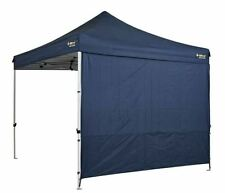 NEW OZTRAIL HD SOLID WALL KIT POLYESTER GAZEBO PAVILION HEAVY DUTY CAMPING BLUE