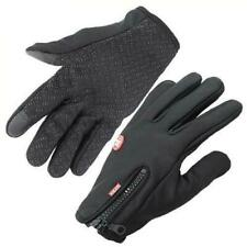 $125 3m Thermout Men'S Black Thermaflex Touchscreen Winter Tech Gloves Size L