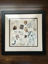 Disney Trading Pins Dogs Dogerpillar Nana Kanine Krunchies Framed 7 Pin Set LE