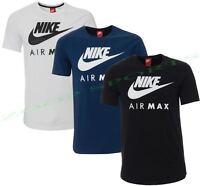 Nike New men's Air Max Logo Crew Cotton T-Shirt Tee All Size