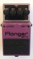 More details for boss roland bf-2 flanger made in japan mij 1987 green label guitar effect pedal