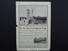 The Breeder's Gazette, Nov. 28, 1906, One Advertising Page, Double Sided S2#03