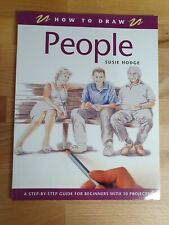 How To Draw People - Susie Hodge paperback