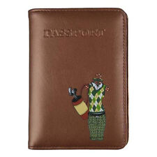 ✈ Golf Girl Passport Cover, Travel Chic Lady Golfer ID Holder, Wallet ✈