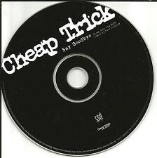 CHEAP TRICK Say Goodbye 1 Track w/CHEAP ROCK MIX 1997 PROMO DJ CD single PROOR12