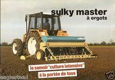 Farm Equipment Brochure - Sulky - Master - Semoir - c1990's (F1524)